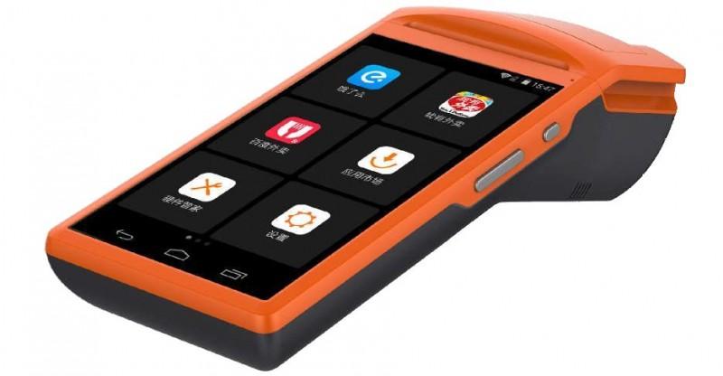 """Registrační pokladna  přenosná LILKA miniPOS Elio  (5,5 """"dotyková IPS obrazovka, tiskárna na 58mm termopapír)"""