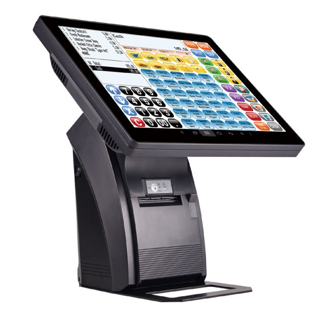 "elio ZQ-1088 15 ""dotek.obrazovka / 80 mm tiskárna / zák. displej"